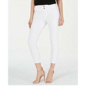 HUE® Original Denim Capris, White, Size: XXL